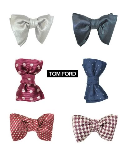 TOM FORD BOW TIES 2013- 2014